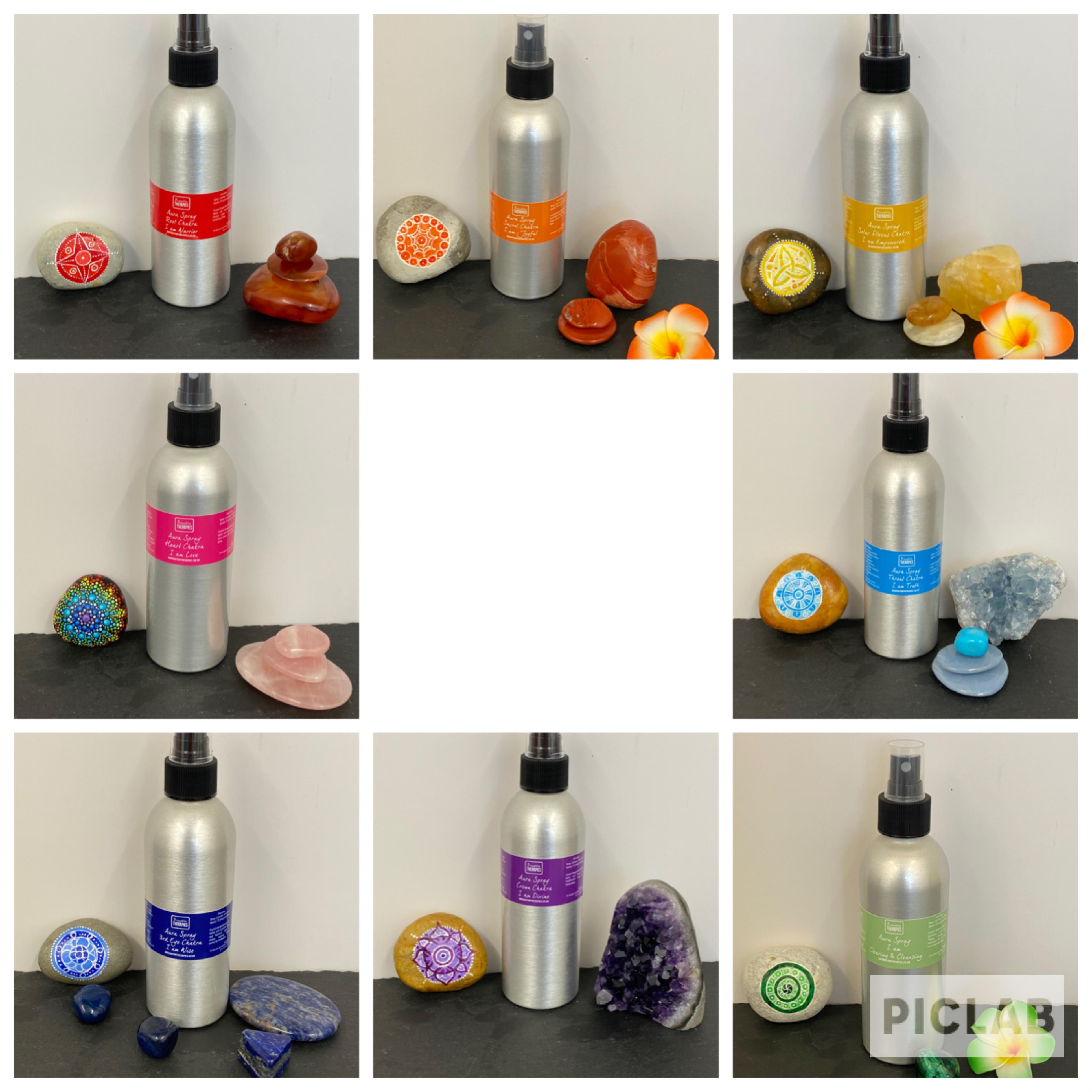 Chakra Range – Aura Spray – 200ml